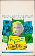 """Movie Posters:Science Fiction, Village of the Damned (MGM, 1960). Window Card (14"""" X 22""""). ScienceFiction.. ..."""