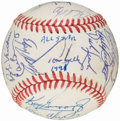 Autographs:Baseballs, 1991 American League All-Star Team Signed Baseball. ...