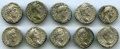 Ancients:Ancient Lots  , Ancients: GROUP LOTS. Roman Imperial. Lot of ten (10) Commodus ARdenarii. Fine-Choice VF. ... (Total: 10 coins)