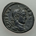 Ancients:Ancient Lots , Ancients: GROUP LOTS. Roman Imperial. Lot of two (2) ConstantinianEra AE3. XF.... (Total: 2 coins)