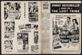 "Movie Posters:Adventure, The Lost Tribe & Others Lot (Columbia, 1949). Uncut Pressbooks(7) (Multiple Pages, 11"" X 14"" & 12"" X 16""), French Program(... (Total: 9 Items)"