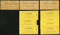 Obsoletes By State:Arizona, Twin Buttes, (AZ)- Twin Buttes Mining & Smelting Co. CompanyStore $10 Punch Booklet ND Three Examples and More. ... (Total: 10items)