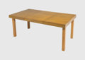 Furniture , George Nelson (American, 1908-1986). Expanding Dining Table, model 4654-1, circa 1948, Herman Miller. Birch. 29-1/2 x 62...
