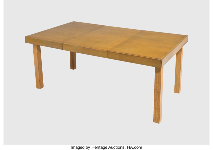 Expanding Dining Table Furniture George Nelson American 1908 1986