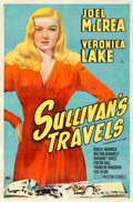 "Movie Posters:Comedy, Sullivan's Travels (Paramount, 1941). One Sheet (27"" X 41"") StyleA.. ..."