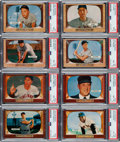 Baseball Cards:Lots, 1955 Bowman Baseball Complete Set (320). ...