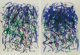 Joan Mitchell (1926-1992) Sunflowers II, diptych, 1992 Lithographs in colors on wove paper 57 x 41-1/2 inches (144.8...