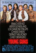 """Movie Posters:Western, Young Guns & Others Lot (20th Century Fox, 1988). One Sheets (3) (27"""" X 40"""" & 27"""" X 41""""). Western.. ... (Total: 3 Items)"""