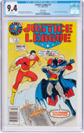 Modern Age (1980-Present):Superhero, Justice League #3 Limited Edition Cover Variant (DC, 1987) CGC NM9.4 White pages....