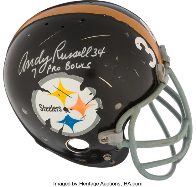 low priced 87925 fb98f Mid to Late 1960's Pittsburgh Steelers Game Worn & Signed ...