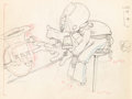 Animation Art:Production Drawing, Mickey's Amateurs Goofy Animation Drawing (Walt Disney,1937). ...