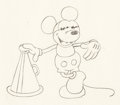 Animation Art:Production Drawing, Around the World in 80 Minutes Mickey Mouse AnimationDrawing (Walt Disney/United Artists, 1931). ...