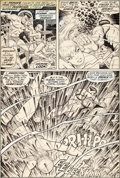 Original Comic Art:Panel Pages, Bill Everett Sub-Mariner #51 Story Page 10 Namor andNamorita Original Art (Marvel, 1972)....
