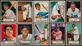 Baseball Cards:Lots, 1952 Topps Baseball Collection (161). ...