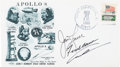 Explorers:Space Exploration, Apollo 8 Crew-Signed Launch Cover Directly from the Family Collection of Astronaut Richard Gordon. ...