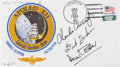 Explorers:Space Exploration, Apollo 15 Flown Crew-Signed Limited Edition Apollo 12 CoverDirectly from the Family Collection of Apollo 12 Command ModulePi...