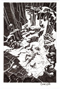 Original Comic Art:Splash Pages, Bruce Zick Mandala Graphic Novel Story Page 176 Original Art(Dark Horse, 2014)....