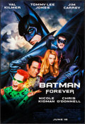 "Movie Posters:Action, Batman Forever (Warner Brothers, 1995). One Sheets (6) (27"" X 40"",27"" X 40.5"") SS & DS 6 Styles Advance. Action.. ... (Total: 6Items)"