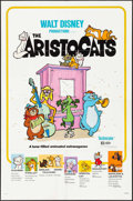 "Movie Posters:Animation, The Aristocats & Other Lot (Buena Vista, R-1980). One Sheet (27"" X 41""). Animation.. ... (Total: 2 Items)"