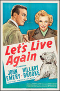 """Movie Posters:Comedy, Let's Live Again (20th Century Fox, 1948). One Sheet (27"""" X 41""""). Comedy.. ..."""