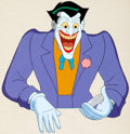 Animation Art:Production Cel, Batman: The Animated Series The Joker Production Cel (WarnerBrothers, c. 1993)....