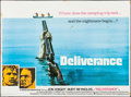 "Movie Posters:Action, Deliverance (Warner Brothers, 1972). British Quad (30"" X 40""). Action.. ..."
