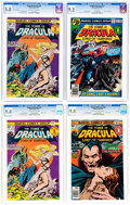 Bronze Age (1970-1979):Horror, Tomb of Dracula Group of 7 (Marvel, 1974-79).... (Total: 7 ComicBooks)
