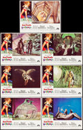 """Movie Posters:Science Fiction, Barbarella (Paramount, 1968). Lobby Cards (7) (11"""" X 14""""). ScienceFiction.. ... (Total: 7 Items)"""