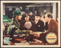 "Movie Posters:Mystery, Bulldog Drummond Strikes Back (United Artists, 1934). Lobby Card (11"" X 14""). Mystery.. ..."