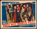 "Movie Posters:Adventure, North West Mounted Police (Paramount, 1940). Lobby Card (11"" X14""). Adventure.. ..."