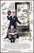 "Movie Posters:Comedy, The Producers (Saint James Theatre, 2001). Autographed Theatrical Window Card (14"" X 22""). Comedy.. ..."