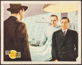 "Movie Posters:Mystery, Mr. Moto's Gamble (20th Century Fox, 1938). Lobby Card (11"" X 14"").Mystery.. ..."