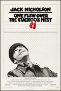 "Movie Posters:Academy Award Winners, One Flew Over the Cuckoo's Nest (United Artists, 1975). One Sheet (27"" X 40.75""). Academy Award Winners.. ..."