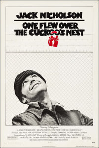 """One Flew Over the Cuckoo's Nest (United Artists, 1975). One Sheet (27"""" X 40.75""""). Academy Award Winners"""