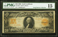 Large Size:Gold Certificates, Fr. 1185* $20 1906 Gold Certificate PMG Choice Fine 15.. ...