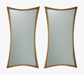 Furniture , William Hinn (Swedish, 20th Century). Pair of Mirrors, circa 1955, The Swedish Furniture Guild for Urban Furniture. Waln... (Total: 2 Items)
