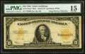 Large Size:Gold Certificates, Fr. 1173am* $10 1922 Mule Gold Certificate PMG Choice Fine 15.. ...