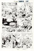 Original Comic Art:Panel Pages, Michael Golden and Armando Gil The 'Nam Trade Paperback Page34 Original Art (Marvel, 1987)....
