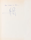 Autographs:Celebrities, Neil Armstrong Signed Book: Space Pioneer by Paul Westman....