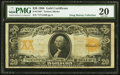 Large Size:Gold Certificates, Fr. 1186* $20 1906 Gold Certificate PMG Very Fine 20.. ...