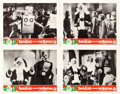 Memorabilia:Movie-Related, Santa Claus Conquers the Martians Lobby Cards Group of 4(Embassy, 1964).... (Total: 4 Original Art)