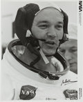 Autographs:Celebrities, Michael Collins Signed Launch Day Original NASA Photo. ...