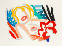 Tom Wesselmann (1931-2004) Big Blonde, 1986-88 Screenprint in colors on wove paper 55 x 74 inches