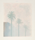 Prints & Multiples, David Hockney (b. 1937). Mist, from Weather Series, 1973. Lithograph in colors on Arjomari paper. 37-1/4 x 32-1/4 in...