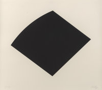 Ellsworth Kelly (1923-2015) Untitled, 1997 Lithograph in black on Rives BFK paper 22 x 25 inches