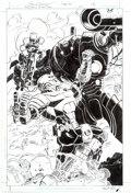 Original Comic Art:Splash Pages, Roger Robinson and Hilary Barta The Brave and the Bold #25Splash Page 2 Original Art (DC, 2009)....