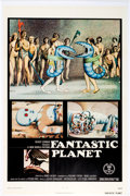 Memorabilia:Poster, Fantastic Planet Movie Poster (New World Pictures, 1973)....
