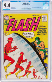 The Flash #109 (DC, 1959) CGC NM 9.4 White pages