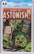 Silver Age (1956-1969):Superhero, Tales to Astonish #27 (Marvel, 1962) CGC VG 4.0 White pages....