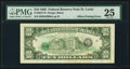 Error Notes:Offsets, Offset of Third Printing on Back Error Fr. 2027-H $10 1985 FederalReserve Note. PMG Very Fine 25.. ...